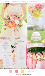 8_fresh_summer_wedding_palettes_for_2019_pink_lemon