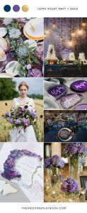 Mood-Board-Ultra-Violet-Navy-Gold-Wedding-Inspiration