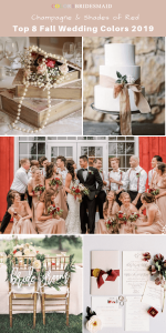 top_10_fall_wedding_color_trends_for_2019_champagne_red